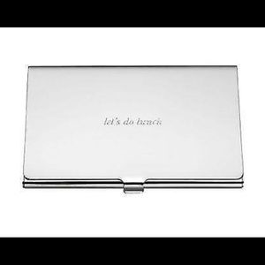 Other - ♦️NEW♦️Business Card Holder SILVER